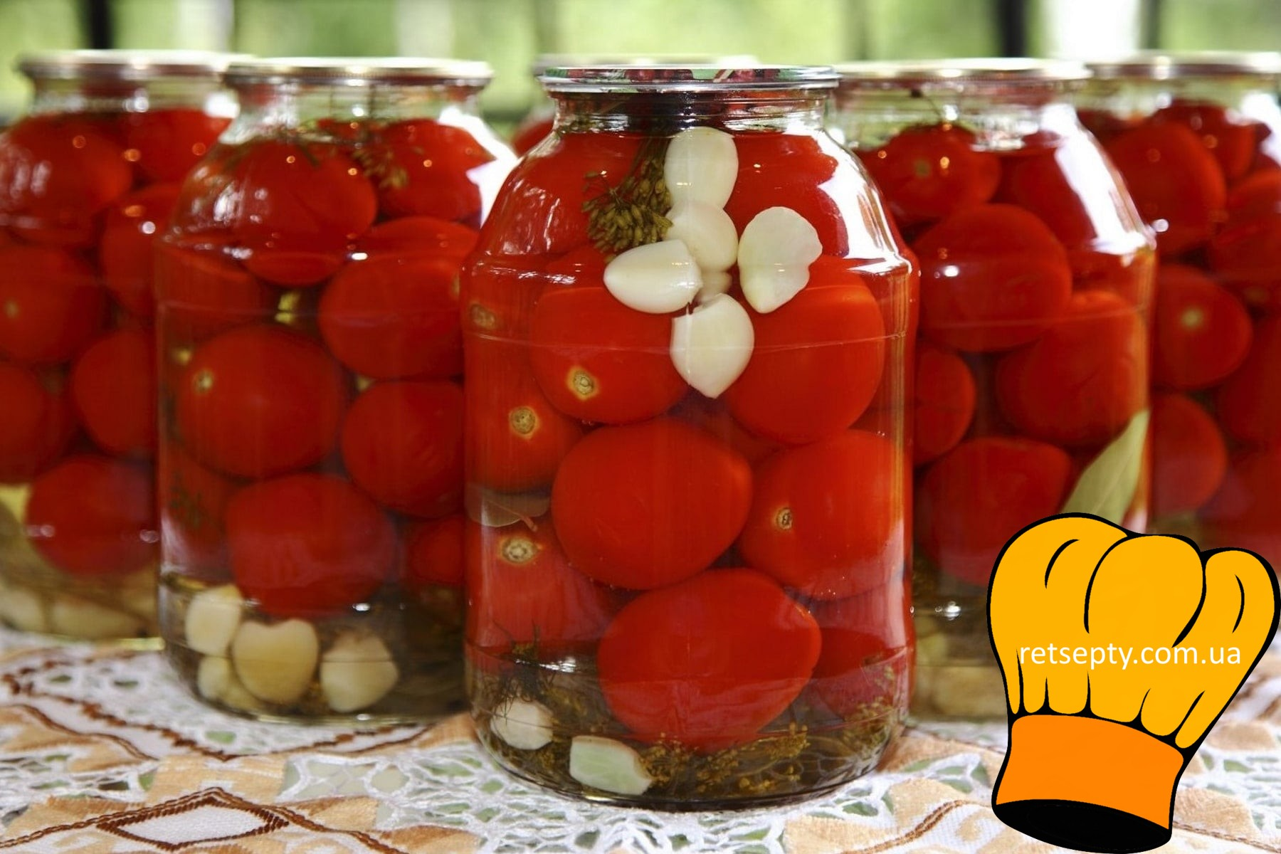 Консервовані помідори від бабусі