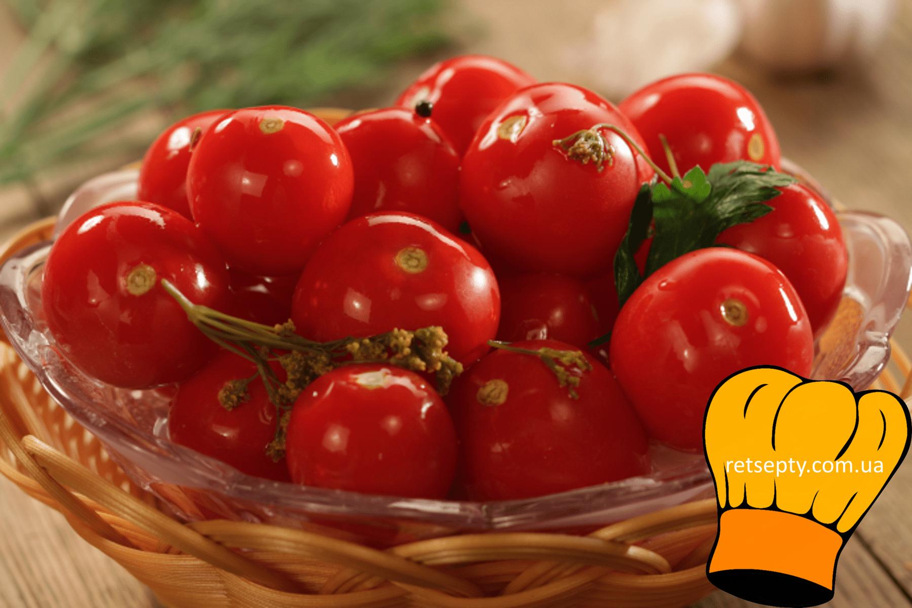Солоні бочкові помідори з гірчицею