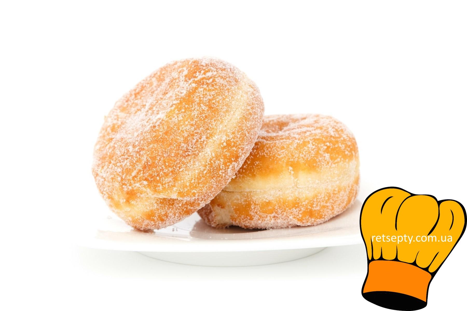 Прості булочки до чаю, майже без цукру
