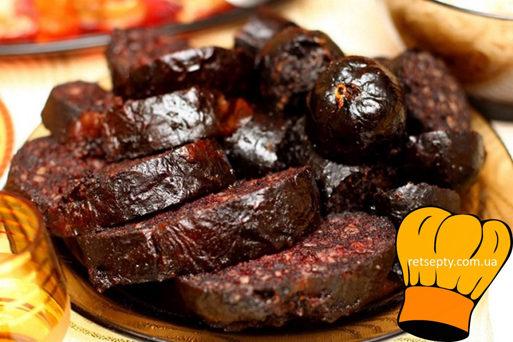 Рецепт приготування домашньої кров'янки з гречкою
