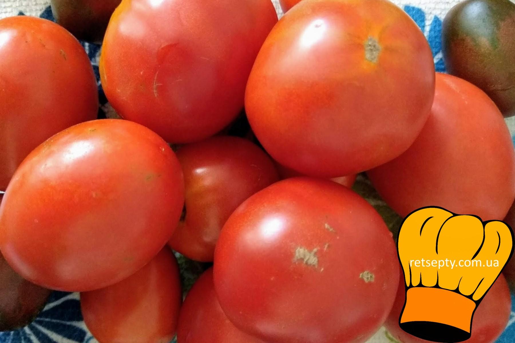 Рецепт маринованих помідорів з морквою