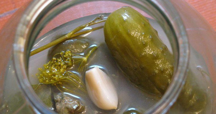 Рецепт солоних огірків без оцту