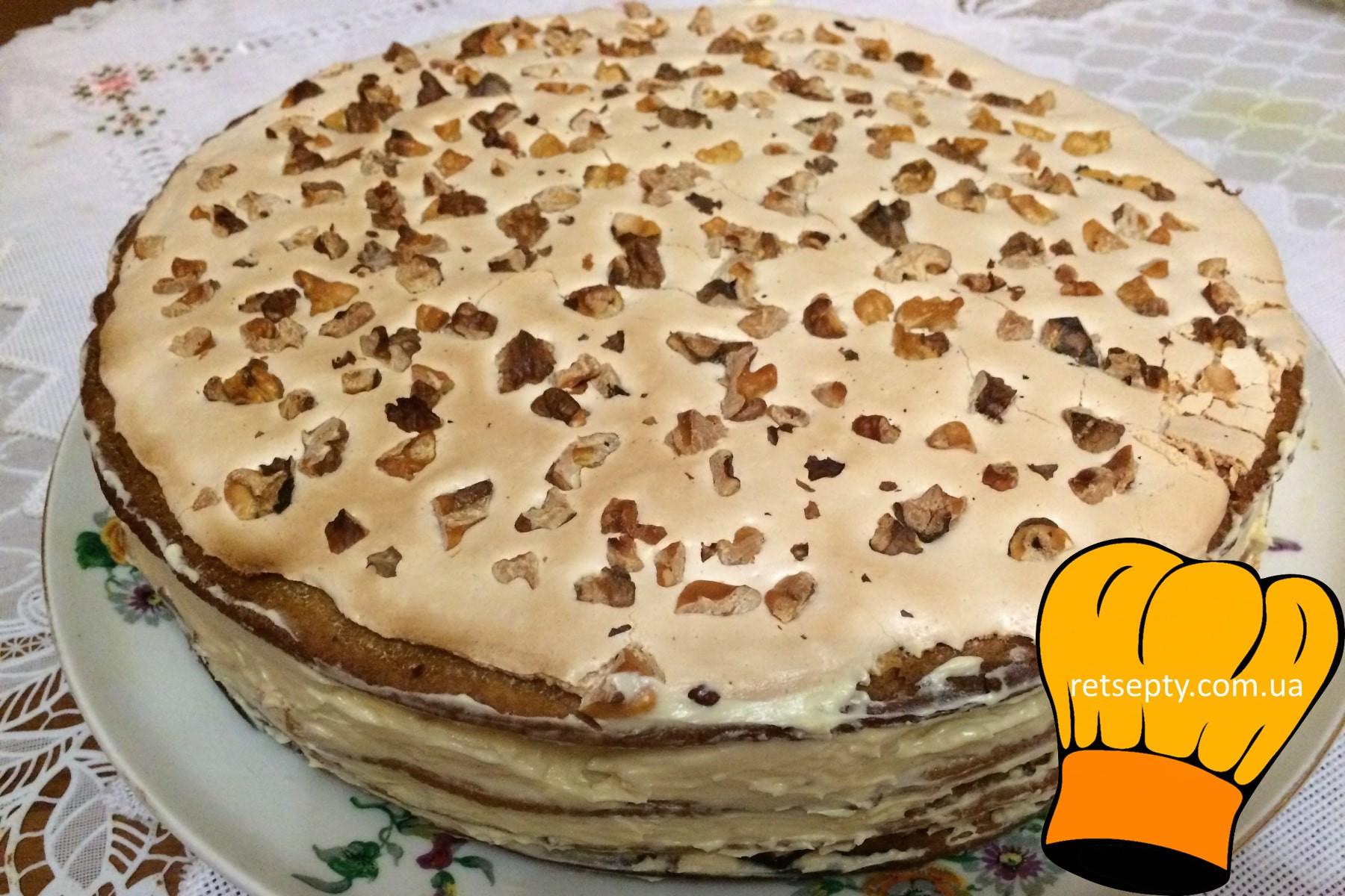 """Маковий торт """"Королівський"""""""