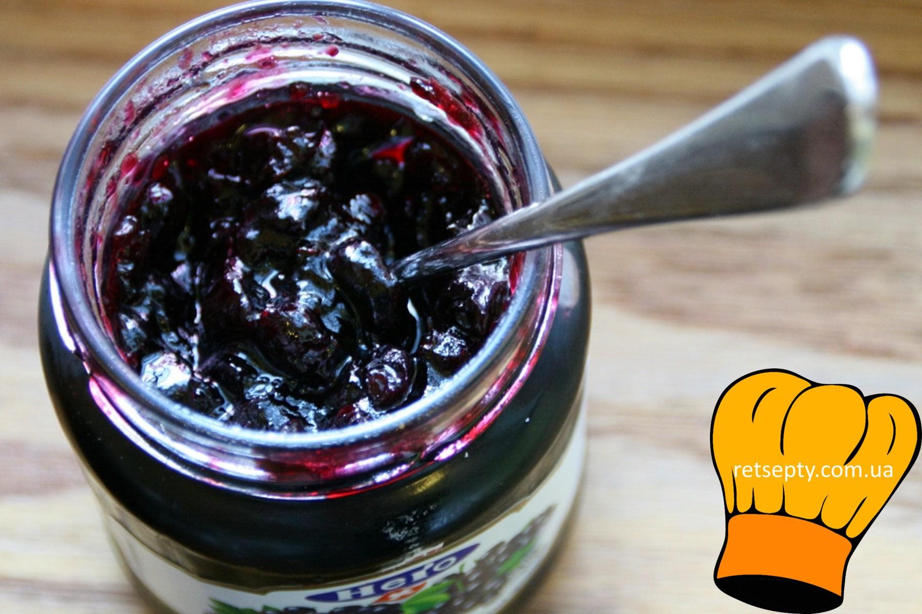 Як приготувати варення з чорної смородини без варіння