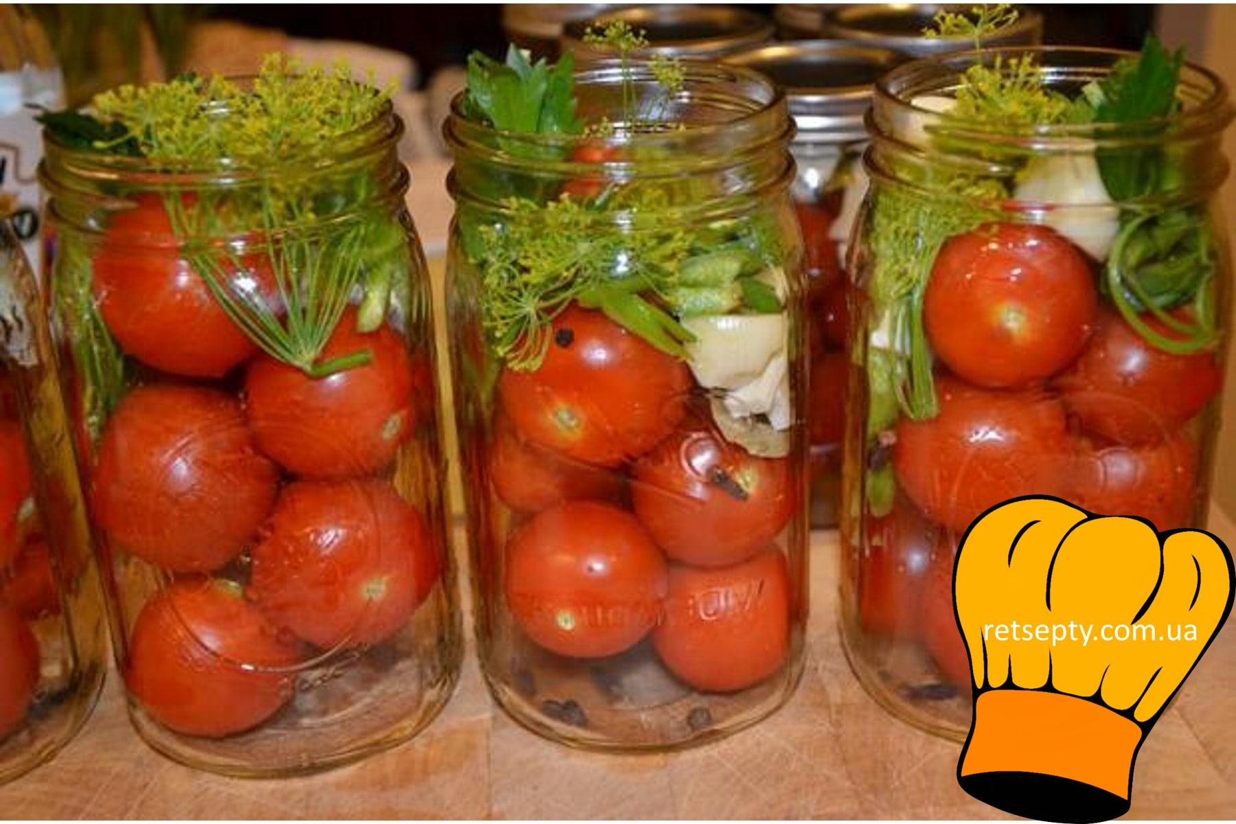Як засолити помідори на зиму