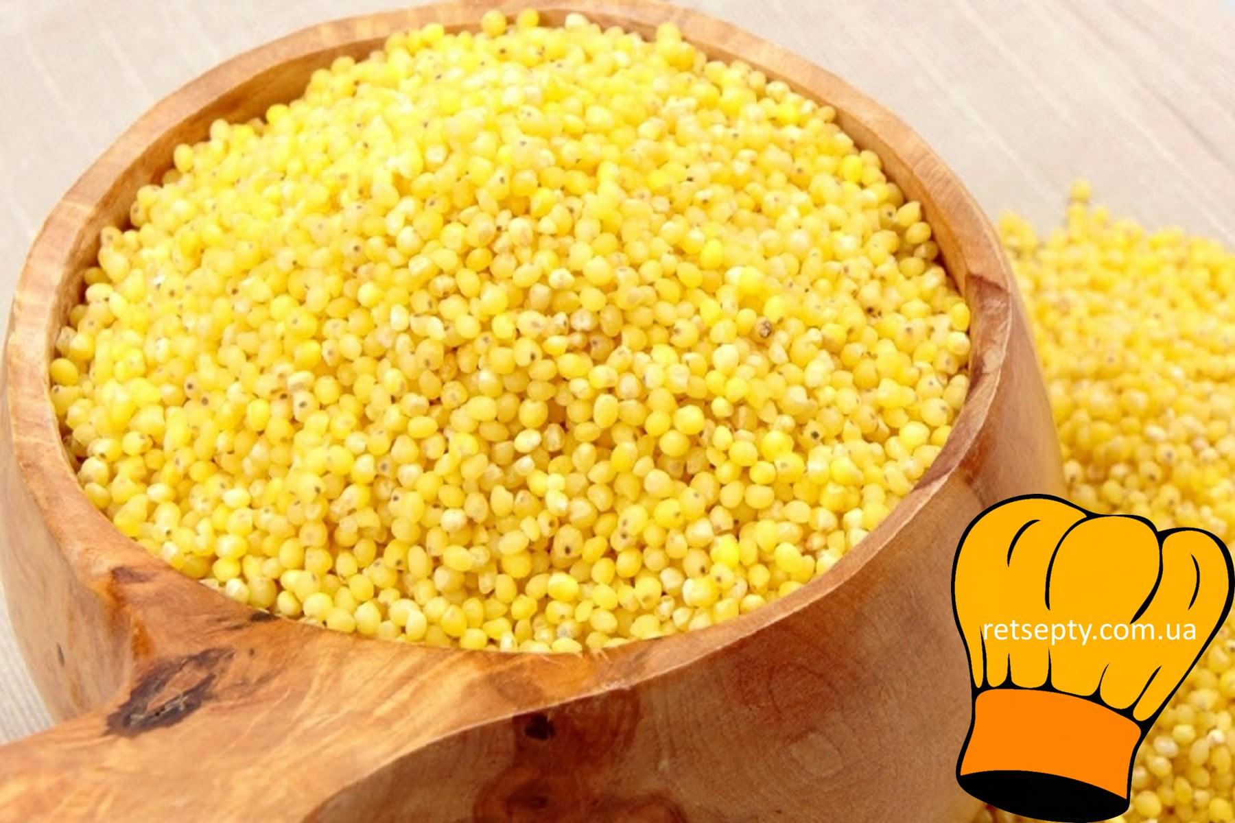 Кукурудзяна крупа