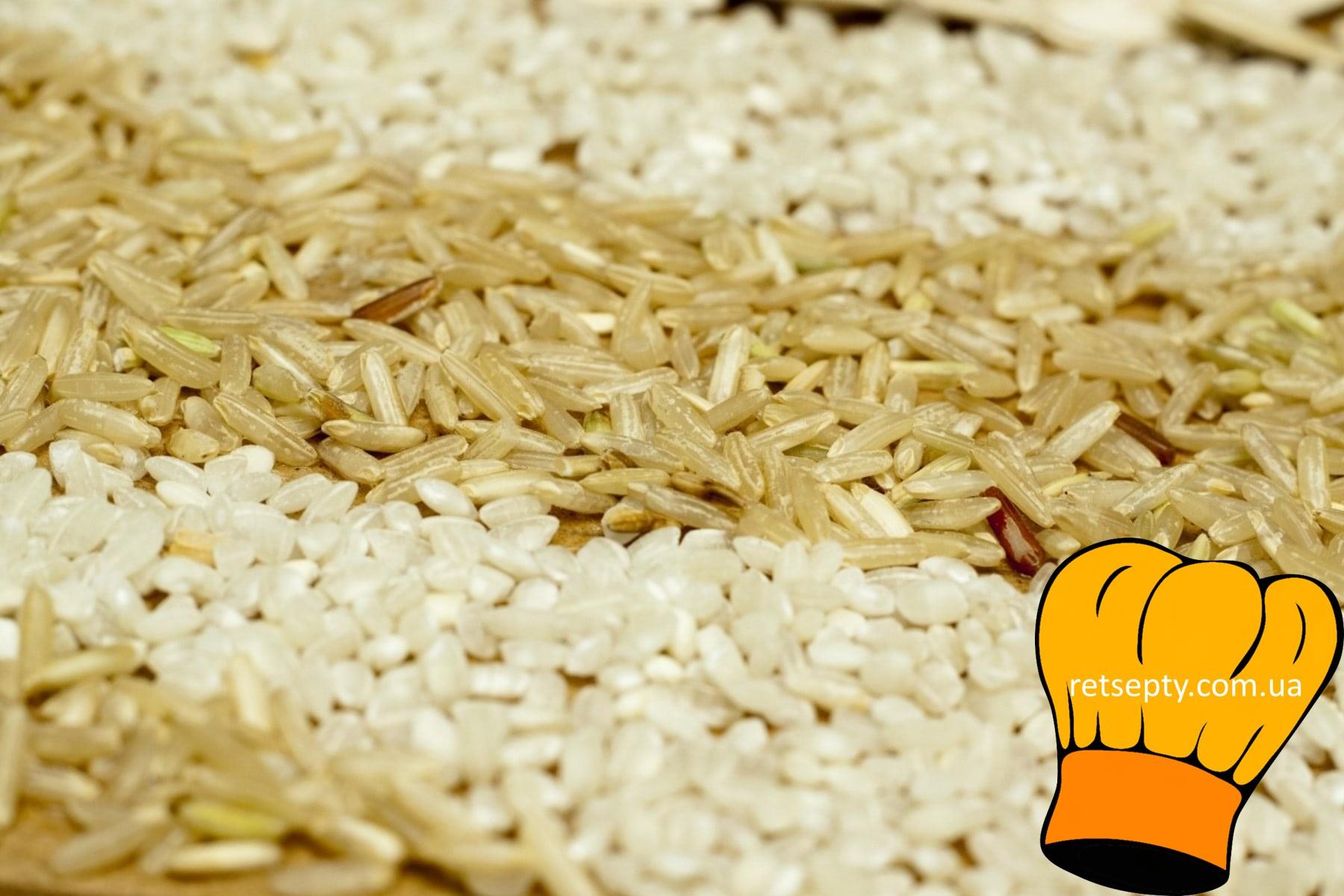 Рис, рисова крупа